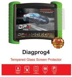 Dedicated tempered glass  screen protector for DP4 screen