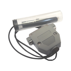 POGO ADAPTER TSSOP8 WITH CLEAR CAP AND LED