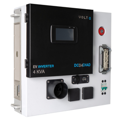 DC04CHAD CHAdeMO V2H Inverter/Converter