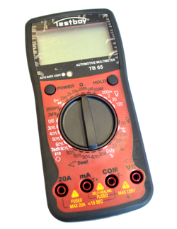 Testboy TB65: Automotive-Multimeter