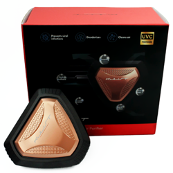 UVWASH mini Antivirus and Germicidal Air Purifier (Black)