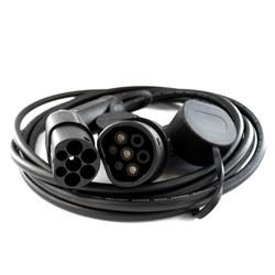 Kabel do ładowania pojazdów Typ 2 – Typ 2, 16A, 3 fazy