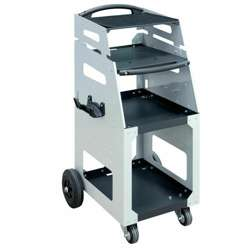 Zestaw GYSFLASH - ładowarka 100.12 HF i wózek warsztatowy